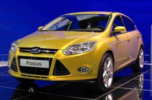 Ford Focus Hatch 2012 Frente
